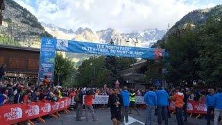 Ultra Trail Mont Blanc: Salida CCC 2014 desde Courmayeur (101k/D+6100m)