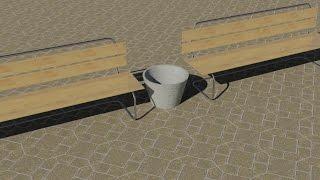 autocad bench tutorial - John daivd