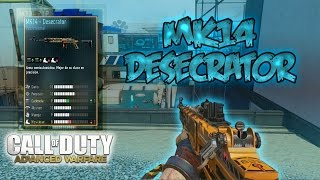 "MK14 DESECRATOR (MODELO PRO) ""MEJORA FANTASMA"" - COD ADVANCED WARFARE"