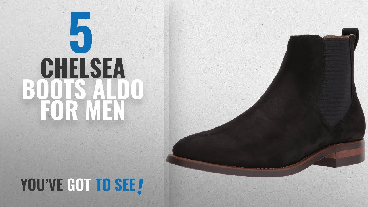 Top 10 Chelsea Boots Aldo [ Winter 2018 ]: Aldo Men's Gilmont Chelsea Boot,  Black Suede, 10.5 D US