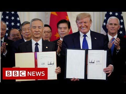 US China Trade Deal - BBC News