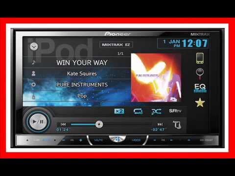 A Cool Car Stereo Tuner Pioneer AVHXBT Inch DVD Tuner - Cool car radios