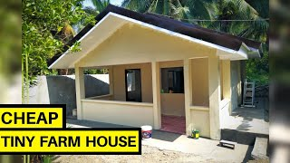 Building Our Tiny Farm House | Tiny House Philippines