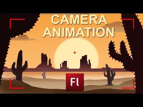 Flash Animation Tutorial - Camera Movements