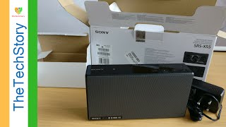 SONY SRS-X55 Bluetooth Speakers , Unboxing and First Impressions