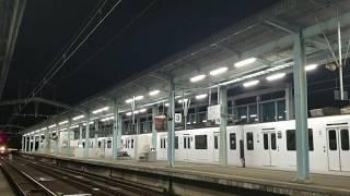 305系 W2 試運転列車 唐津駅通過