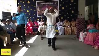 రాక్ చేసిన రాకేష్ (Christmas Dance By Rakesh Master)