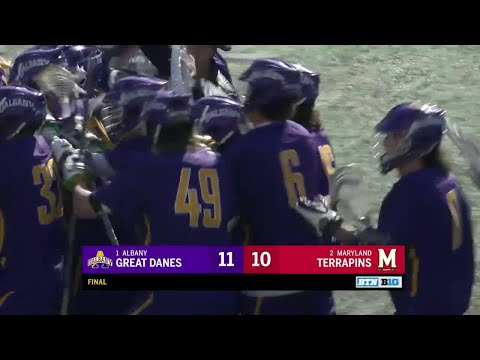 Albany at Maryland - Men's Lacrosse Wrap-Up