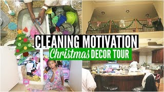 SPEED CLEAN 🏠 Toy Decluttering | Christmas Tree Decorating 🎄 Sunday Setup