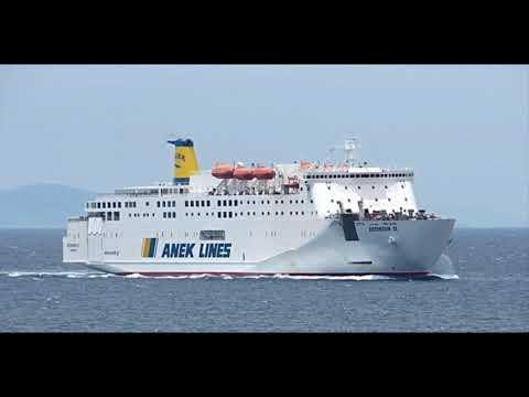 20 longest ferries in Greece (2018)