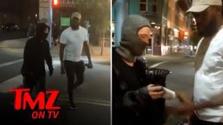 UFC's Jon Jones Confronts BLM Vandals, 'Give Me The Spray Can' | TMZ