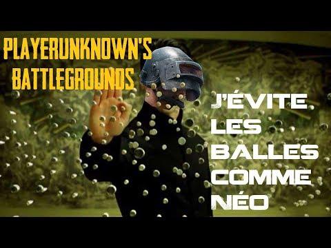 PLAYERUNKNOWN'S BATTLEGROUNDS J'évite les balles comme Néo avec LeGrillePain & Kayuso Kira