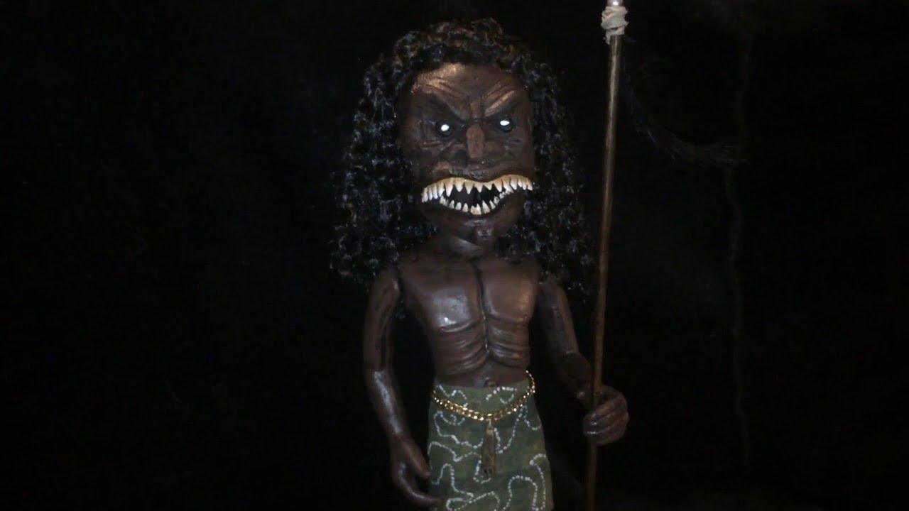 Zuni Fetish Warrior Doll 44