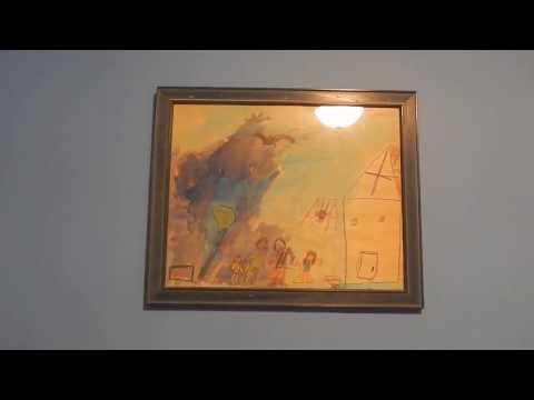 Guest Bedroom And Veronica's Artwork
