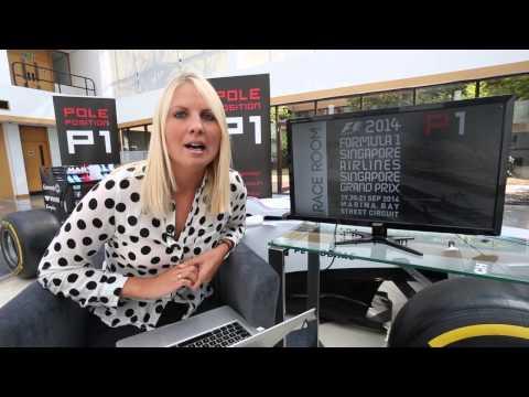 F1 Monza GP 2014 & Rob Smedley food challenge at Williams Martini Racing