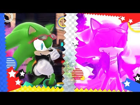 Sonic Generations : Scourge The Hedgehog