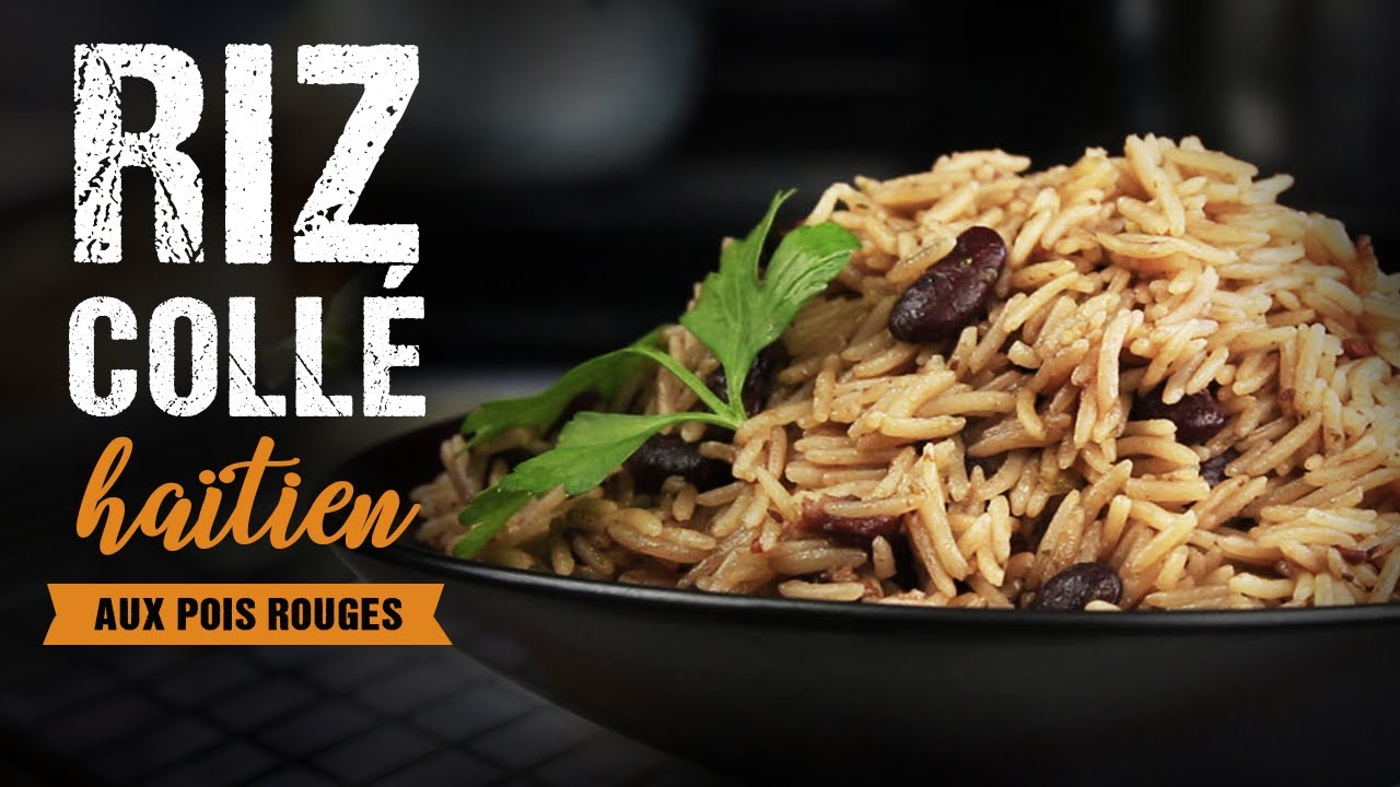 Riz Colle Haitien Riz National Cuisine Haitienne Youtube