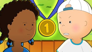 Caillou and the Sports Games | Caillou Cartoon
