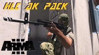 ARMA 3 Mods - HLC AK pack