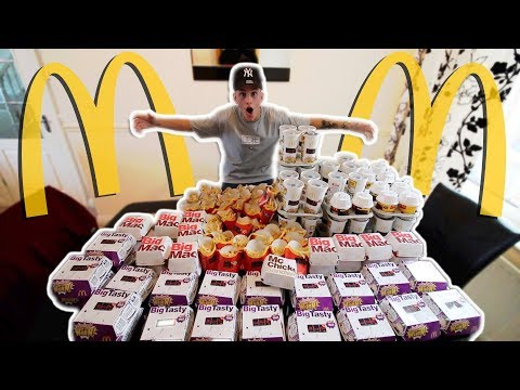 I Spent £250 on Mcdonalds To Find £100,000 CASH PRIZE! (350+ Monopoly Stickers)