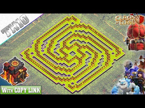 NEW TH10 Base 2019 With REPLAY | TH10 Spiral Base With Copy Link - Clash Of Clans