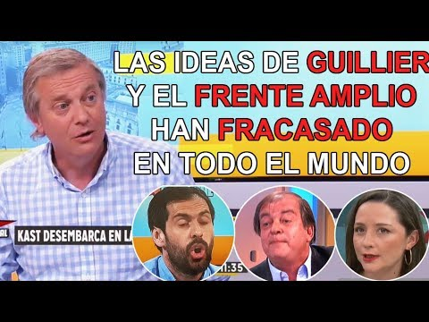 Nuevamente Jose Antonio kast destruyo a la izquierda ideológica en Estado Nacional (03/12/2017)