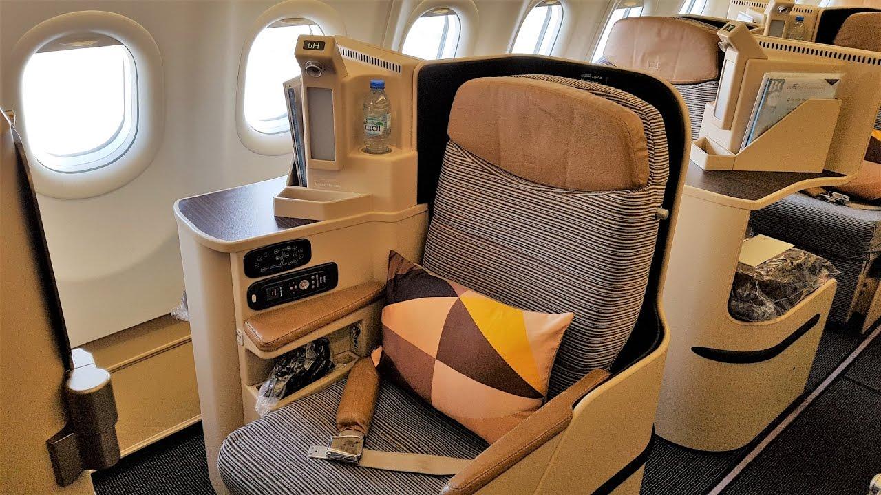 Etihad Business Class - A330