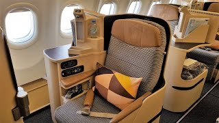 Finally my very first Etihad business class review. I'd heard many ...