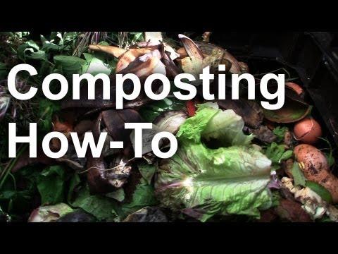 Composting 101 Basics – Backyard Composting – GardenFork.TV