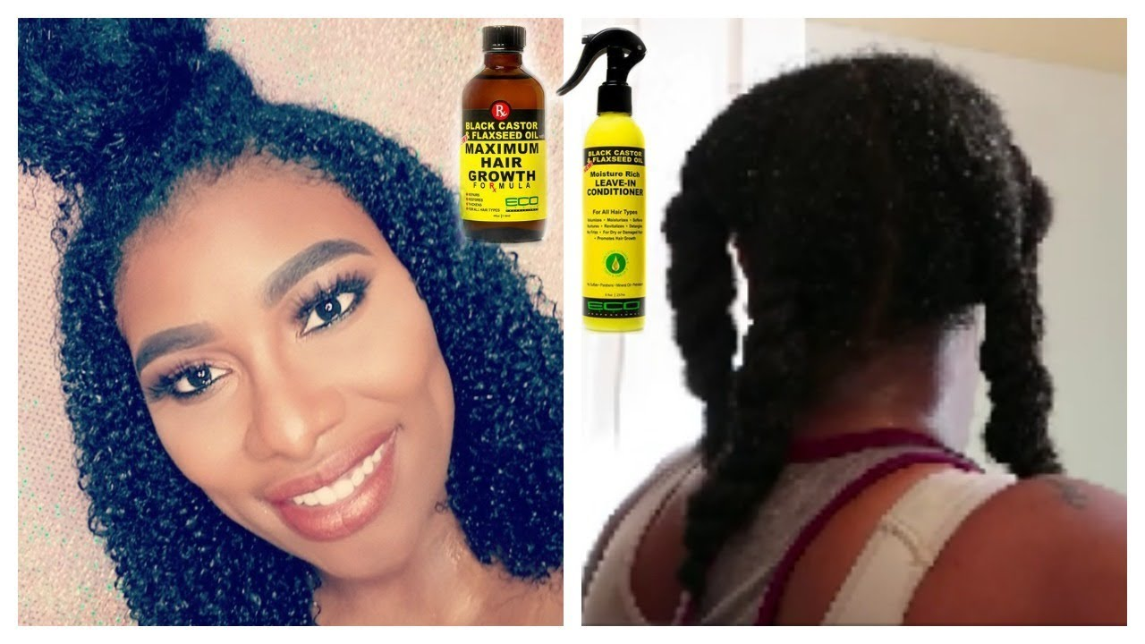 How To Moisturize Dry Natural Hair Black Castor Oil And