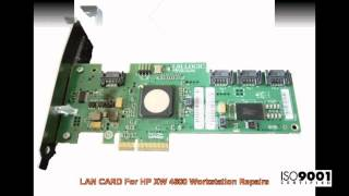Broadcom LAN CARD For HP XW Workstation Repairs @ Advanced Micro Services Pvt. Ltd,Bangalore,India