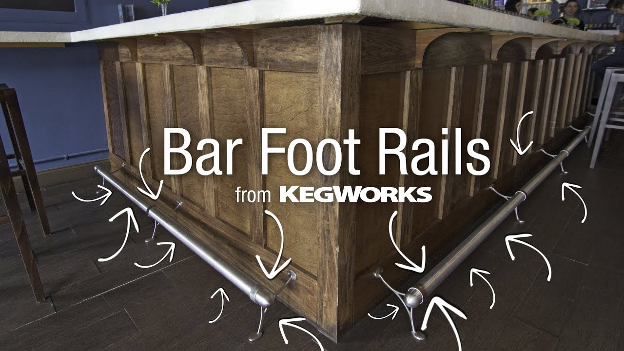 Bar Foot Rails From Kegworks