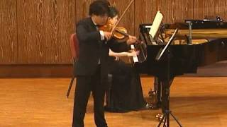 Brahms Violin Sonata No. 1 in G major, Op. 78, Regensonate, mvt. I Vivace ma non troppo