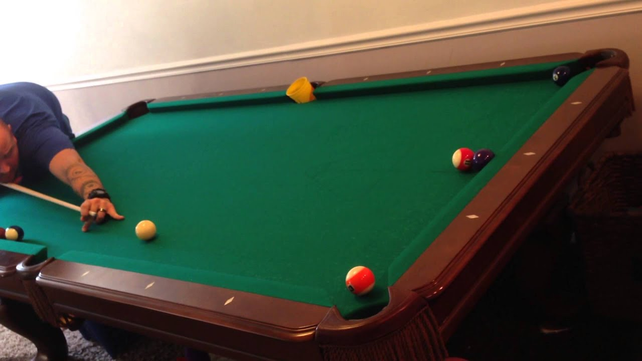 pool trick shot stroke shot force follow youtube. Black Bedroom Furniture Sets. Home Design Ideas
