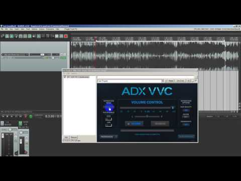 Using ADX vst plugin in Reaper DAW to remove or Isolate vocals (Audionamix)