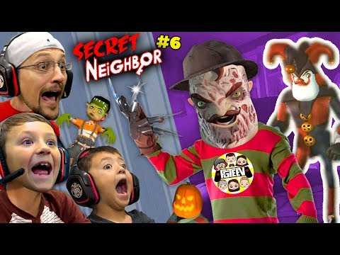 secret-neighbor-freddy-krueger-is-overpowered!-(fgteev-hello-neighbor-escape-w/-chase-#6)