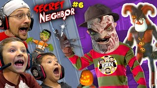 SECRET NEIGHBOR FREDDY KRUEGER is OVERPOWERED! (FGTeeV Hello Neighbor Escape w/ Chase #6)