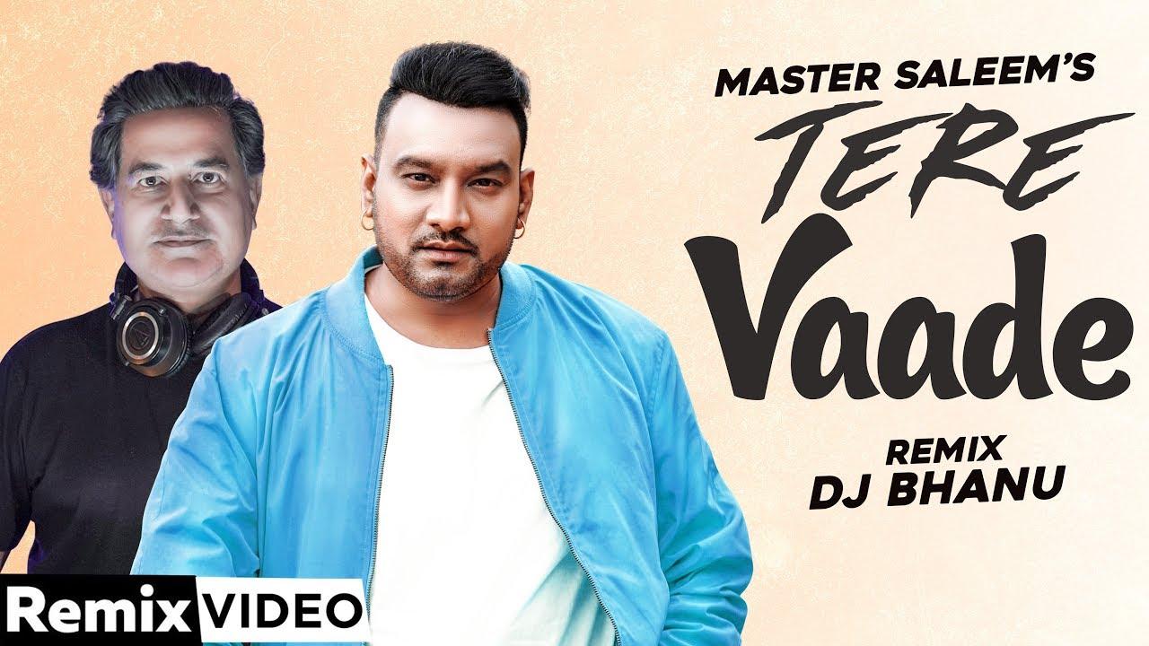 Tere Vaade (Remix) | Master Saleem | DJ Bhanu | Exclusive Punjabi Song on NewSongsTV & Youtube | Speed Records