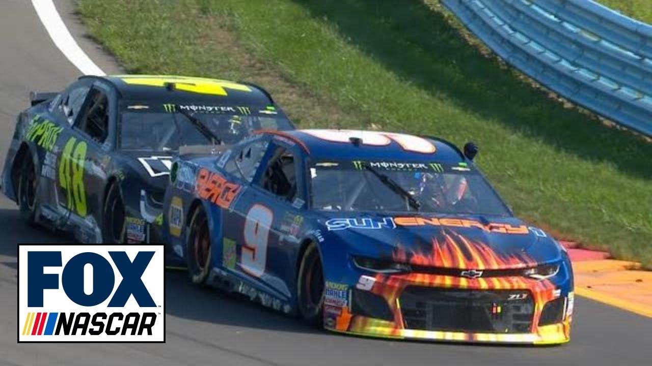 "Radioactive: Watkins Glen - ""I got my man, Jimmie Jam, coming to push me.""   NASCAR RACE HUB"