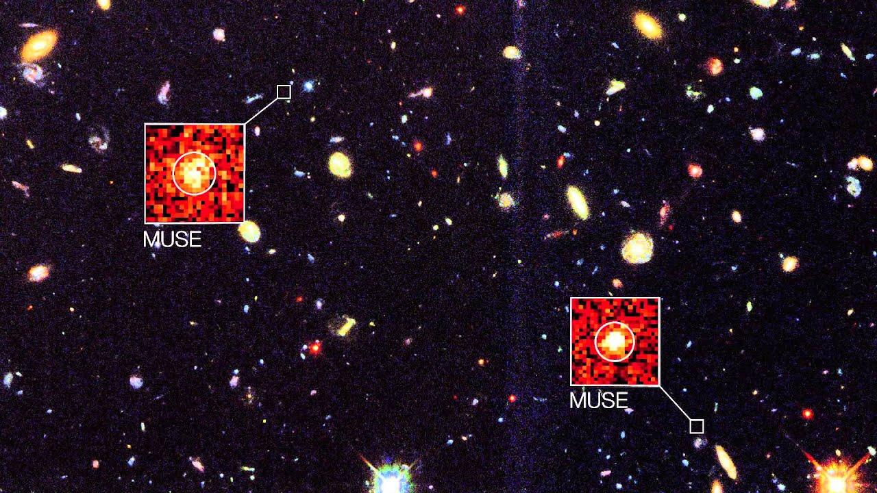 Deeper than the Hubble Deep Field - YouTube