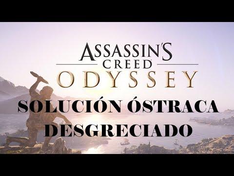 Assassin's Creed Odyssey - Solución Ostraca Desgreciado (Atica)