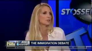 Ann Coulter Argues Eloquently Against Destroying America With Immigrants