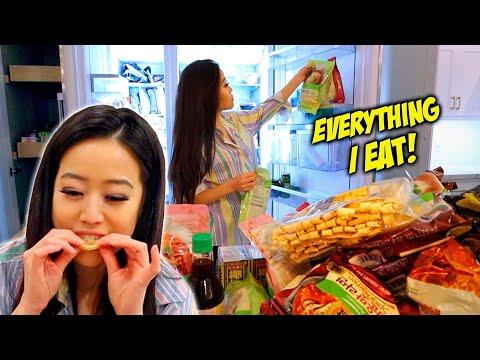 WHAT I EAT WHEN I'M NOT FILMING MUKBANG!