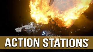Action Stations! Hostiles Incoming - Space Engineers -  #45