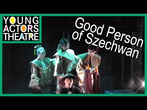 Behind The Scenes At The Young Actors Theatre's Production Of Good Person Of Szechwan