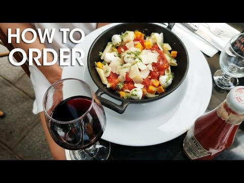 How To Survive Ordering In A French Restaurant In Paris