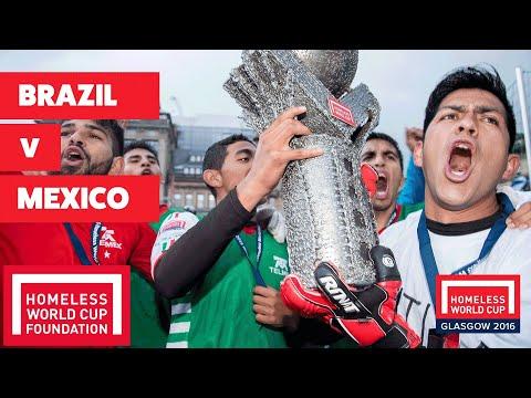 Brazil v Mexico I Men's Homeless World Cup Final #HWC2016
