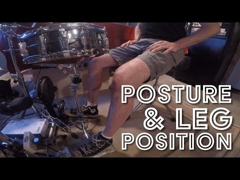 Posture And Leg Position For Drummers: The Oregon Drum Project - Day 147