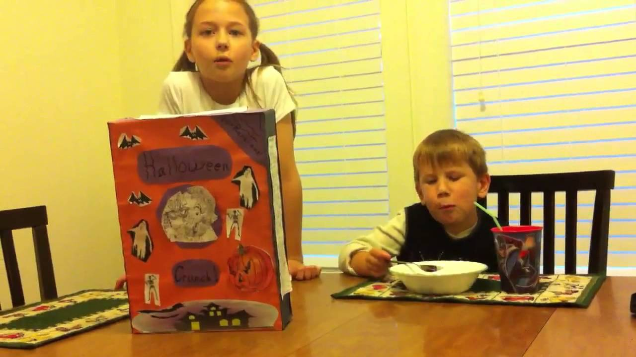 Cereal box book report youtube ccuart Gallery