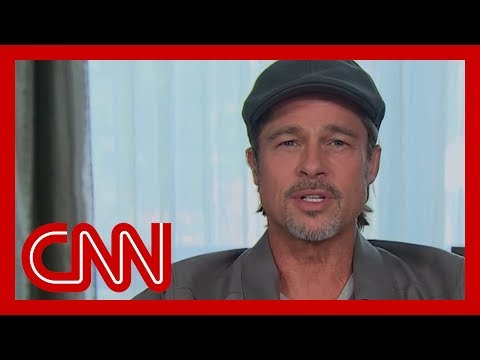 Brad Pitt opens up: I was running